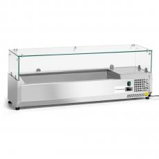 Nadstawa chłodnicza przeszklona Forgast 5 GN 1/4<br />model: FG07405<br />producent: Forgast
