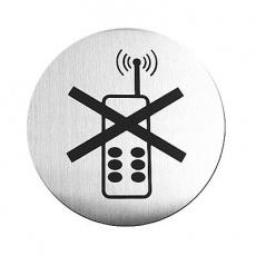 Tabliczka informacyjna samoprzylepna TELEFON<br />model: 663653<br />producent: Hendi