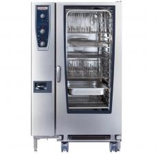 Piec konwekcyjno-parowy elektryczny 20xGN 2/1 CombiMaster Plus RATIONAL<br />model: B229100.01.202<br />producent: Rational