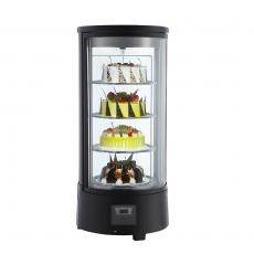 Witryna ekspozycyjna chłodnicza - obrotowa 72 l<br />model: 852161<br />producent: Stalgast