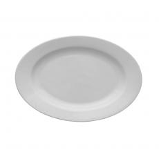 Półmisek owalny Lubiana Kaszub/Hel - śr. 24 cm<br />model: 390223<br />producent: Lubiana