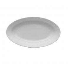 Półmisek owalny Lubiana Kaszub/Hel - śr. 24 cm<br />model: 390226<br />producent: Lubiana