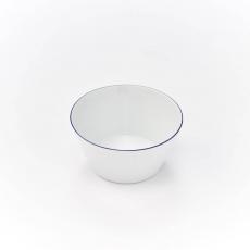 Salaterka porcelanowa BISTRO - śr. 14 cm<br />model: 395989<br />producent: Karolina