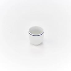 Kieliszek na jajko porcelanowy KONESER<br />model: 395972<br />producent: Karolina