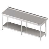Stół roboczy nierdzewny z półką 980056200