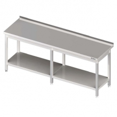 Stół roboczy nierdzewny z półką<br />model: 980056200/W<br />producent: Stalgast