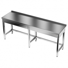 Stół roboczy nierdzewny<br />model: E1031/1700/600/W<br />producent: ProfiChef