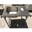 Stół nierdzewny ze zlewem 1-komorowym- E2030/800/600/W