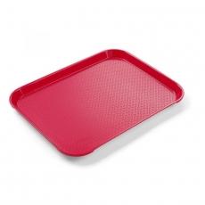 Taca z polipropylenu czerwona<br />model: 878712<br />producent: Hendi
