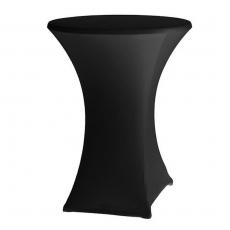 Pokrowiec na stół okrągły SYMPOSIUM czarny<br />model: 813836<br />producent: Hendi