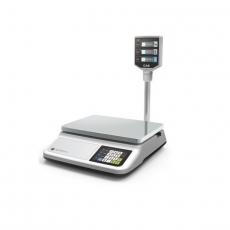 Waga kalkulacyjna z wyświetlaczem na wysięgniku - zakres ważenia do 15 kg<br />model: 580455<br />producent: Hendi