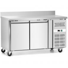 Stół chłodniczy 2-drzwiowy z agregatem bocznym<br />model: FG07122/W<br />producent: Forgast