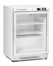 Szafa chłodnicza przeszklona 140 l<br />model: FG07212/W<br />producent: Forgast