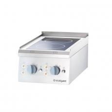 Kuchnia nastawna ceramiczna 2-polowa<br />model: 9705500<br />producent: Stalgast