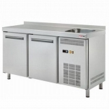 Stół chłodniczy 2-drzwiowy ze zlewem RT-2DS