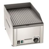 Płyta grillowa elektryczna ryflowana GDP 320E-R 370035
