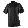 Bluza kucharska Unera czarna krótki rękaw XL  U-UN-BTS-XL