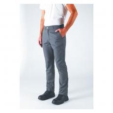 Spodnie kucharskie Blino grafit XXXL<br />model: U-BL-G-XXXL<br />producent: Robur