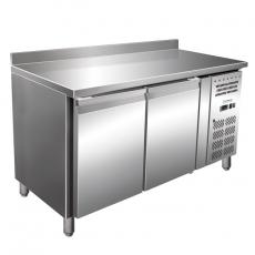 Stół chłodniczy 2-drzwiowy z agregatem bocznym<br />model: FG07122/E132<br />producent: Forgast
