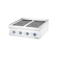 Kuchnia nastawna ceramiczna 4-polowa<br />model: 9706500<br />producent: Stalgast