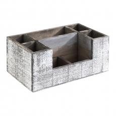 Skrzynka drewniana Vintage 22,5x15,5x11,5 cm<br />model: 11609<br />producent: APS