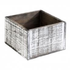 Skrzynka drewniana Vintage 15x15x10 cm<br />model: 11612<br />producent: APS