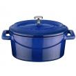 Naczynie żeliwne finger food LAVA 0,36 l niebieskie LV O TC 10 K2B