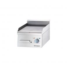 Płyta grillowa elektryczna pojedyncza gładka 40x70x25 cm<br />model: 9730100/U207<br />producent: Stalgast