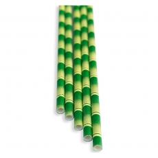 Słomki papierowe bambus<br />model: FF-2508BB<br />producent: BarEq