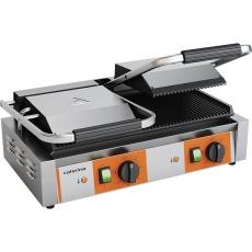 Grill kontaktowy podwójny ryflowany 3.6 kW Caterina<br />model: 742028<br />producent: Stalgast