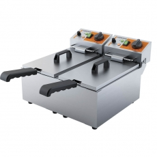 Frytownica elektryczna 2-komorowa CATERINA<br />model: 746043<br />producent: Stalgast