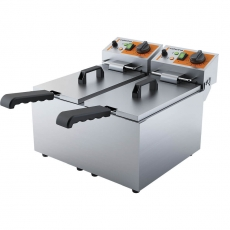 Frytownica elektryczna 2-komorowa CATERINA<br />model: 746068<br />producent: Stalgast
