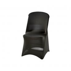Pokrowiec na krzesło czarny - wys. 90 cm<br />model: 950171<br />producent: Stalgast
