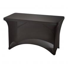 Pokrowiec na stół 122 cm czarny<br />model: 950175<br />producent: Stalgast