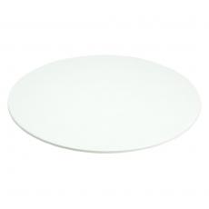 Taca okrągła z melaminy biała<br />model: V-63300<br />producent: Verlo