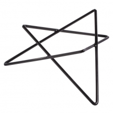 Podstawa bufetowa gwiazda niska czarna<br />model: V-7506<br />producent: Verlo