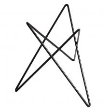 Podstawa bufetowa wysoka czarna gwiazda<br />model: V-7507<br />producent: Verlo
