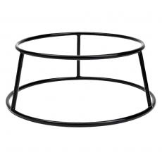 Podstawa bufetowa okrągła czarna<br />model: V-7508<br />producent: Verlo