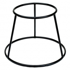Podstawa bufetowa okrągła czarna<br />model: V-7509<br />producent: Verlo