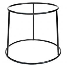 Podstawa bufetowa okrągła czarna<br />model: V-7510<br />producent: Verlo