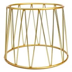 Podstawa bufetowa okrągła złota<br />model: V-7504<br />producent: Verlo