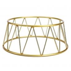 Podstawa bufetowa okrągła złota<br />model: V-7502<br />producent: Verlo