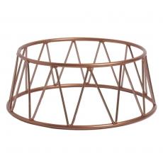 Podstawa bufetowa okrągła miedziana<br />model: V-7503<br />producent: Verlo