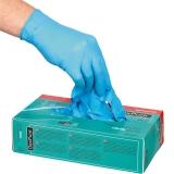 Rękawice jednorazowe nitrylowe czarne rozm. XL - 100 szt. 505034