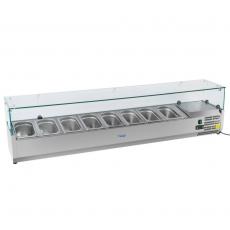 Nadstawa chłodnicza przeszklona RCKV-180/33-O<br />model: 10010462/E<br />producent: Royal Catering