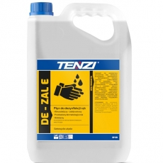 Wirusobójczy płyn do dezynfekcji rąk De-Zal E - poj. 5 l<br />model: SP53/005-WSP053A005AU000<br />producent: Tenzi