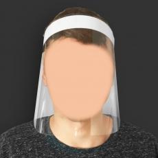 Przyłbica ochronna na twarz<br />model: OZP007<br />producent: M&M Gastro