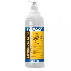 Mydło do dezynfekcji rąk Sapone Dez Extra - poj. 1 l<br />model: SP19/001p-WSP019A001AV000<br />producent: Tenzi