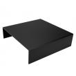 Podwyższenie bufetowe czarne - wys. 8 cm - V-7512