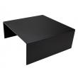 Podwyższenie bufetowe czarne - wys. 12 cm  - V-7513